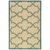 allen + roth Bailey 30-in x 46-in Rectangular Beige Transitional Accent Rug