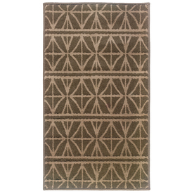 allen + roth Keesport Rectangular Indoor Woven Throw Rug (Common: 2 x 3; Actual: 22-in W x 39-in L)