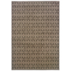 allen + roth Keesport 7-ft 8-in x 10-ft 10-in Rectangular Gray Geometric Area Rug