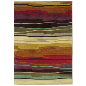 Oriental Weavers of America Riverdale Rectangular Indoor Tufted Area Rug (Common: 5 x 8; Actual: 63-in W x 90-in L)