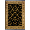 allen + roth Kennett 46-in x 65-in Rectangular Black Border Area Rug