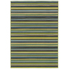 Oriental Weavers of America Portland 5-ft 3-in x 7-ft 5-in Rectangular Multicolor Transitional Indoor/Outdoor Area Rug