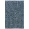 Oriental Weavers of America Legends 17-in x 30-in Rectangular Blue Solid Accent Rug