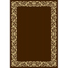 Oriental Weavers of America Harleston 5-ft 3-in x 7-ft 5-in Rectangular Brown Border Indoor/Outdoor Area Rug