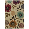 Oriental Weavers of America Cumberland 5-ft 3-in x 7-ft 6-in Rectangular Beige Floral Area Rug