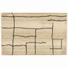 allen + roth Lamport Ivory Rectangular Indoor Woven Throw Rug (Common: 2 x 3; Actual: 22-in W x 39-in L)