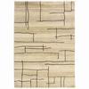 allen + roth Lamport Ivory Rectangular Indoor Woven Area Rug
