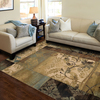 Style Selections Lingfield Rectangular Cream Transitional Woven Area Rug (Common: 10-ft x 13-ft; Actual: 9.83-ft x 12.75-ft)