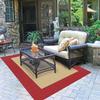 Garden Treasures New Haven Rectangular Indoor and Outdoor Woven Area Rug (Common: 6 x 9; Actual: 75-in W x 114-in L)