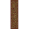 allen + roth Paisley Park Red Rectangular Indoor Woven Nature Runner (Common: 2 x 8; Actual: 23-in W x 90-in L)