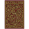 allen + roth Paisley Park Red Rectangular Indoor Woven Nature Area Rug