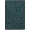 allen + roth Belsburg Teal Rectangular Indoor Woven Oriental Throw Rug (Common: 2 x 3; Actual: 22-in W x 39-in L)