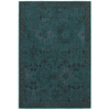 allen + roth Belsburg Teal Rectangular Woven Area Rug