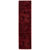 allen + roth Belsburg Red Rectangular Indoor Woven Oriental Runner (Common: 2 x 8; Actual: 22-in W x 90-in L)