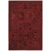 allen + roth Belsburg Red Rectangular Indoor Woven Oriental Area Rug