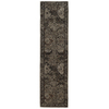 allen + roth Belsburg Cream and Gray Rectangular Indoor Woven Oriental Runner (Common: 2 x 8; Actual: 22-in W x 90-in L)