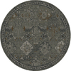 allen + roth Belsburg Cream and Gray Round Indoor Woven Oriental Area Rug (Common: 8 x 8; Actual: 94-in W x 94-in L x 7.83-ft Dia)