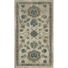 allen + roth Portsbury Beige Rectangular Indoor Woven Oriental Throw Rug (Common: 2 x 3; Actual: 22-in W x 39-in L)