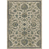 allen + roth Portsbury Beige Rectangular Indoor Woven Oriental Area Rug (Common: 8 x 11; Actual: 94-in W x 130-in L)