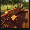 Top Choice Redwood Traditional Lattice (Actual: 0.5-in)