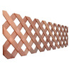 Top Choice Wood Redwood Privacy Lattice (Actual: 0.875-in)