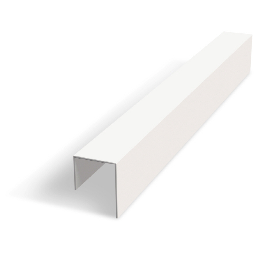 Drywall Edge Bead : Shop amerimax quot vinyl j bead at lowes