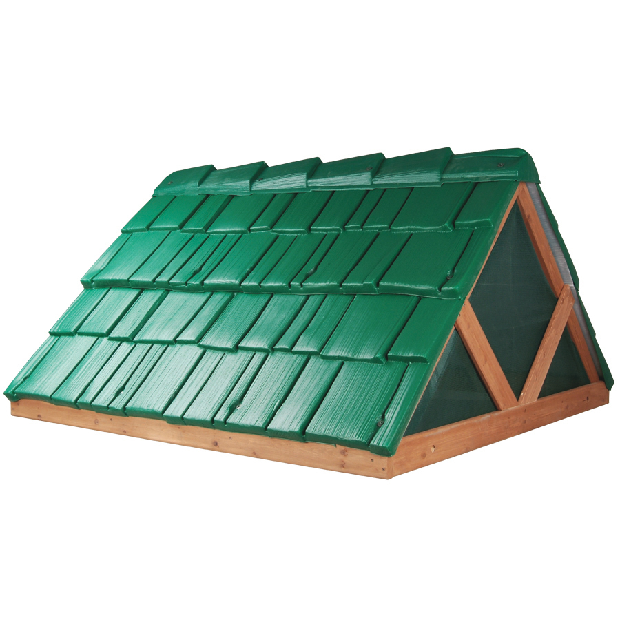 Shop Leisure Time Products Green Plastic Roof At Lowescom