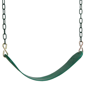 Leisure Time Products Heavy-Duty Plastic and Metal Swing Seat