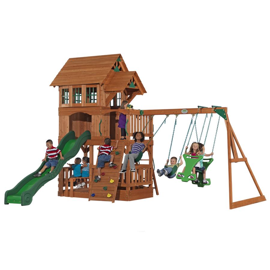 shop adventure playsets the liberty cedar playset at