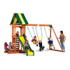 Backyard Discovery Prestige All Cedar Wood Playset with Swings