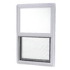 Project Source 20000 Series Vinyl Single Pane Single Strength New Construction Single Hung Window (Rough Opening: 24-in x 30-in; Actual: 23.5-in x 29.5-in)