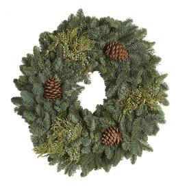 28-in Fresh-Cut Fraser Fir Wreath