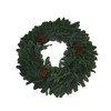 28-in Fresh-Cut Noble Fir Christmas Wreath