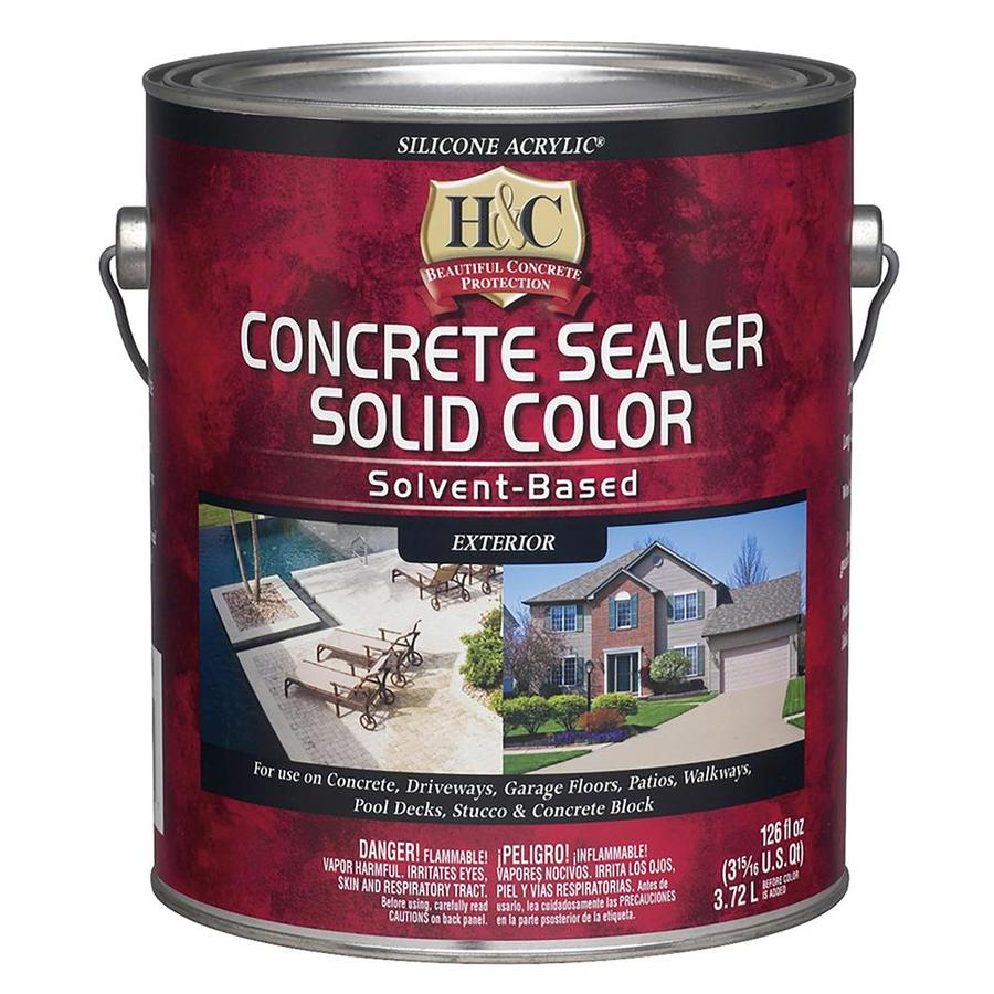 Shop H C H C Acrylic Stain Terra Cotta 1 Gal At