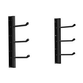 Racor 2.75-in Black Steel Can Rack