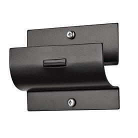 Racor 2-in Black Steel Dual Hook