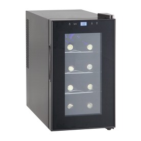 Candor 8-Bottle Black Wine Chiller