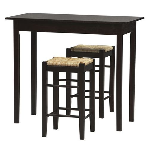 Small space linon tavern dining set with bar stools counter height table at lowes sets dining - High top dining tables for small spaces collection ...