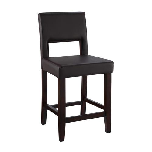 Linon Vega Espresso Bar Amp Counter Stool From Lowes Bars