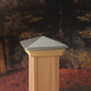 Maine Ornamental Stainless Deck Post Cap