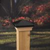 Maine Ornamental Black Deck Post Cap