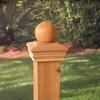 Maine Ornamental Deck Post Cap