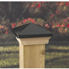 Maine Ornamental Black Deck Post Cap