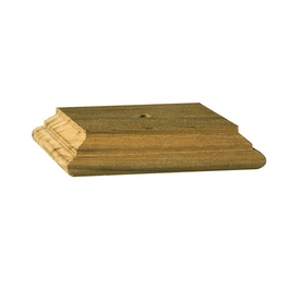 Maine Ornamental 4-in x 4-in Treated Post Top