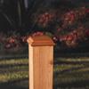Maine Ornamental Deck Post Cap (Fits Common Post Measurement: 4-in x 4-in; Actual: 4-in x 4-in)