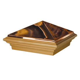 Maine Ornamental 10-in x 10-in Copper Post Cap