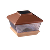 Maine Ornamental 4-in x 4-in Copper Solar Post Cap