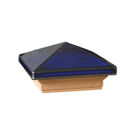 4-in x 4-in Jewel Sapphire Treated Post Cap