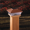 Maine Ornamental Copper LED Deck Post Cap