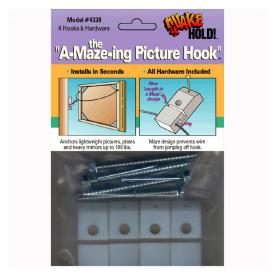 QuakeHOLD! A-Maze-ing Picture Hook